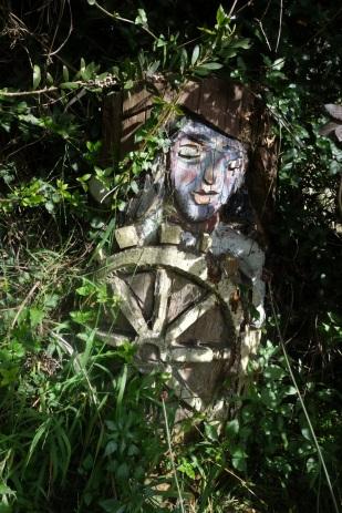 pirate sculpture