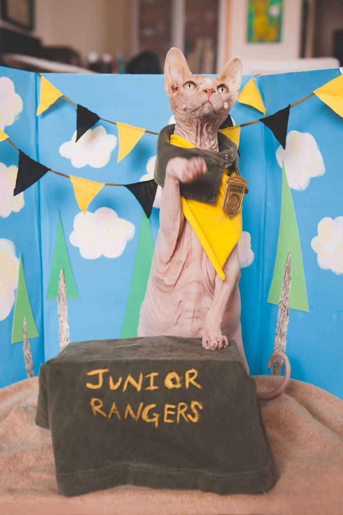 Ghastly the Junior Ranger (photo by Michelle Yoder)